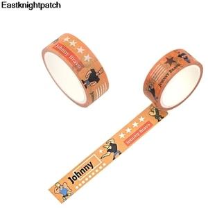 10pcs/lot Vintage Cartoon DIY Scrapbooking Sticky Adhesive washi Paper Masking Tape decoration stickers decals E1134