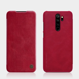 Image 5 - Redmi Note 8 case global version NILLKIN Vintage Qin Flip Cover wallet PU leather PC back cover For Xiaomi Redmi Note 8 Pro case