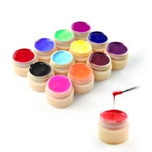 Image 3 - 60pcs * 5ml 네일 젤 컬러 바니시 잉크 CANNI 핫 세일 네일 아트 살롱 매니큐어 전체 세트 색상 LED 젤 래커 페인트 UV 젤