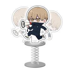 Nova figura anime jujutsu kaisen gojo satoru inumaki toge ltadori yuji cosplay acrílico dos desenhos animados chaveiros fãs jóias 2021