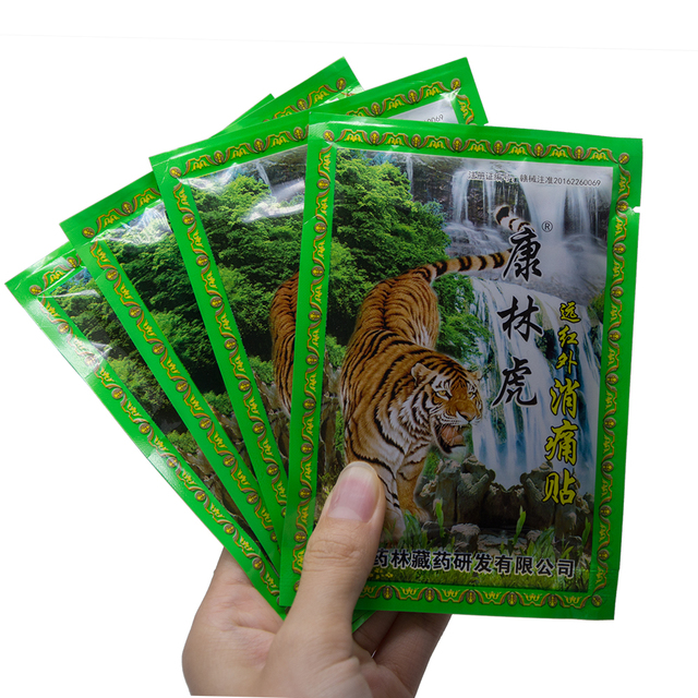 24Pcs /3 Tasche Tiger Balm Erwärmung Patches Zurück Neck Extrakt Kniegelenk Schmerzen Linderung Aufkleber Arthritis Medizinische gips D1422