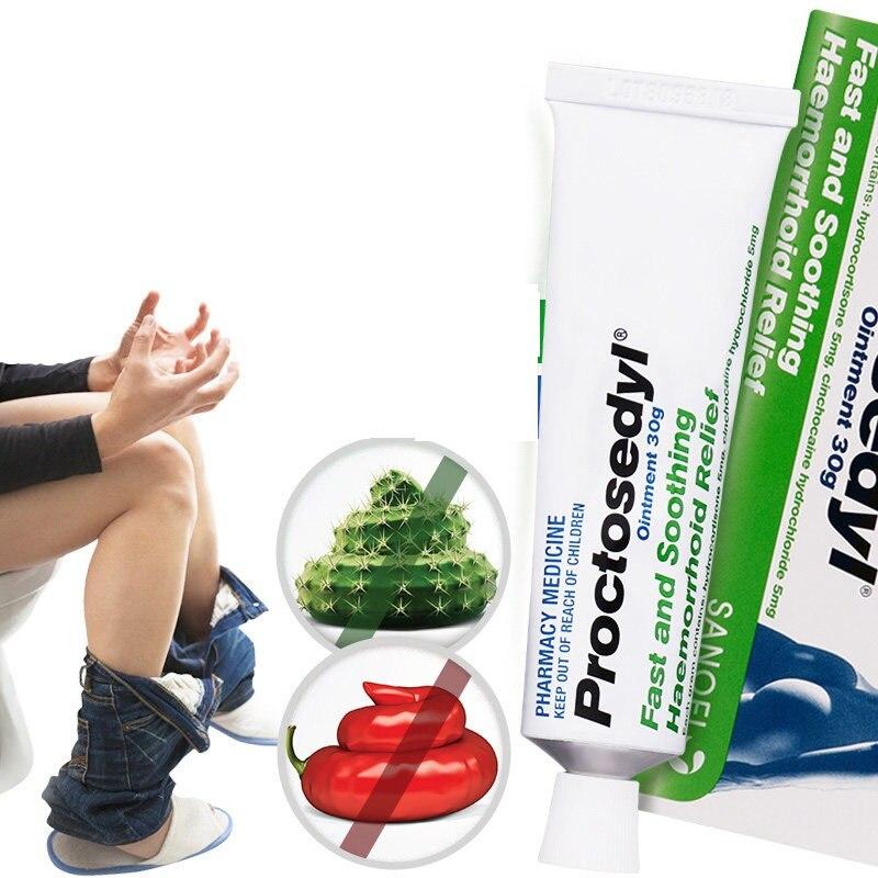 Australia Proctosedyl Effective External Internal Haemorrhoids Cream Gel 30g Relief Anal Fissure Associated Anorectal Conditions