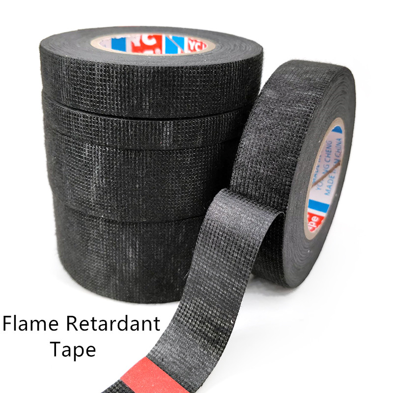 9/15/19/25/32mm Electrical Insulation Wire Flame Retardant Tape Electrical Tape Waterproof Self-adhesive Tape Home Improvement 5