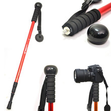 Monopod Trekking-Cane Photography-Stand Straight-Handle Outdoor Micro LISM Digital-Camera