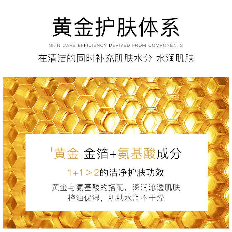 VENZEN 24K oro Viso Detergente Idratante Anti-Aging Controllo del Petrolio Nutriente Cura Della Pelle Del Viso Strumenti di Pulizia
