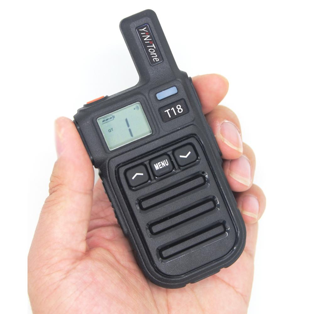 Walkie Talkie USB Fast Charge Walkie Talkie With Vibration Function