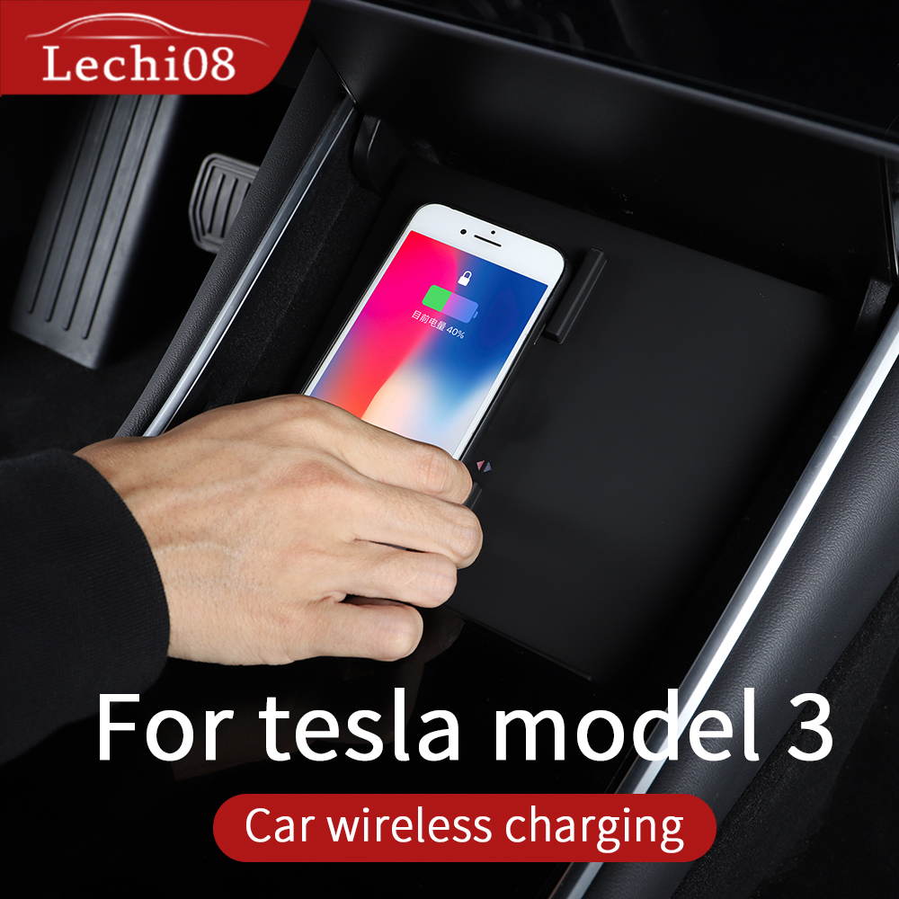 Wireless Charger For Tesla Model 3 Accessories/car Accessories Tesla Model Y  Model 3 Tesla Three Tesla Model 3 Wireless Charger
