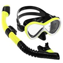 Swimming-Goggles Scuba-Snorkel Professional Anti-Fog Kids with Dry Tube-Set