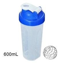 400/600ml протеин смешивание порошка чашки запаянный герметичный шейкер с перемешивающий шарик B2Cshop
