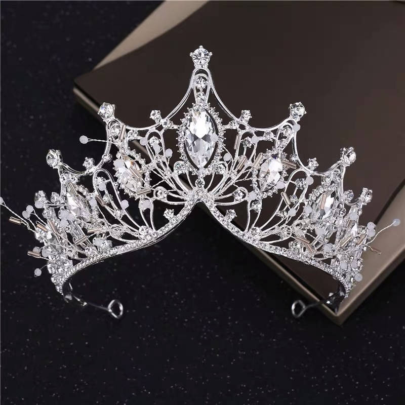 New Design Bridal Crowns Crystal Bling Bling Luxurious Diadem Events Hair Accessories Headpieces Junior Quinceanera Party Crowns