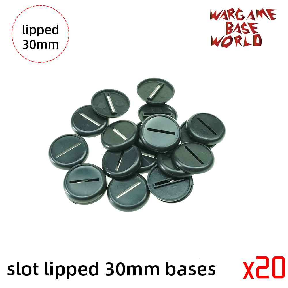 30mm Slot Lipped Bases Table Games For War Machine