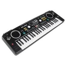 MQ Mq-4912 49 Key Music Digital Electronic Keyboard Piano with Microphone- Portable for Kids & Beginners