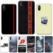 цена на Japanese car AE86 TPU Soft Silicone Phone Case Cover For iphone 4 4s 5 5s 5c se 6 6s 7 8 plus x xs xr 11 pro max