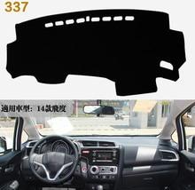 цена на for honda fit 2014-2018 dashboard mat Protective pad Shade Cushion Photophobism Pad car styling accessories