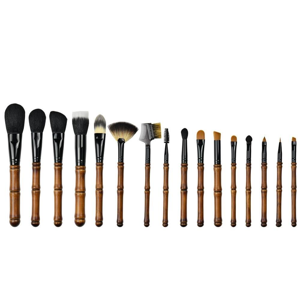 maquiagem cosmeticos em po blush destaque fundacao eyeshadow maquiagem sobrancelha cilios multiplas escovas 16 pc set