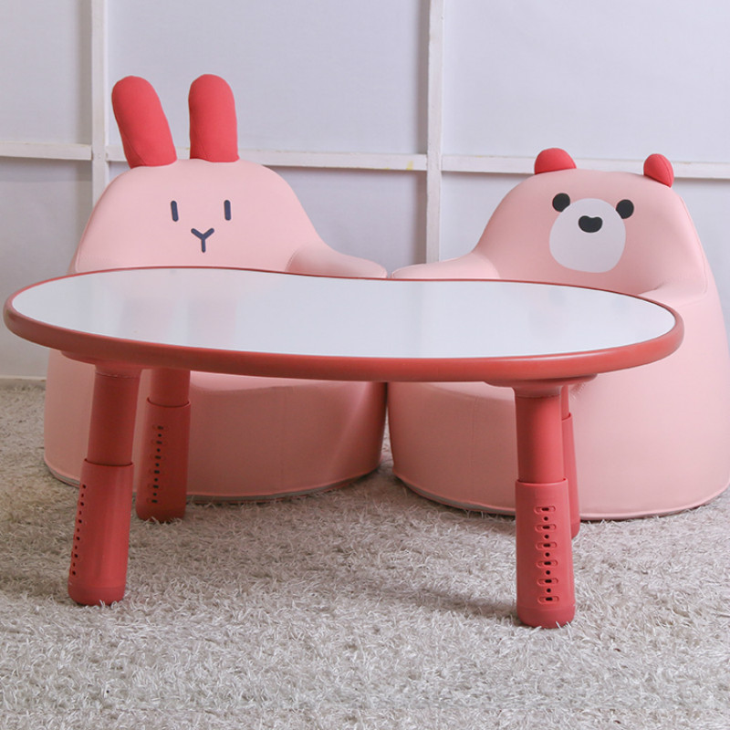 Children's Table Games Can Adjust The Environmental Protection Materials Of Desks In Kindergartens And Kindergartens