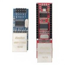 20 adet Mini ENC28J60 Ethernet kalkanı/Ethernet kalkanı Nano SPI arayüzü LAN ağ modülü Ethernet modülü