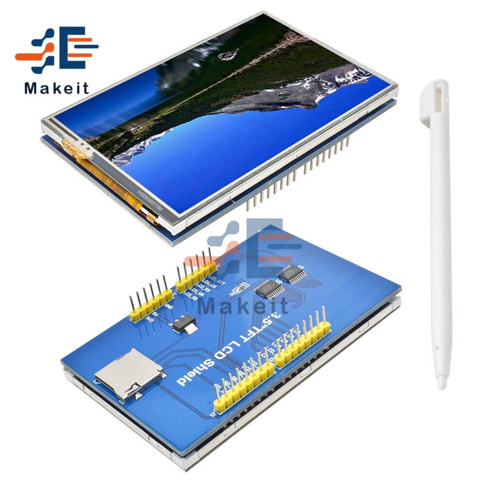 3,5 дюймов 480x320 ЖК-дисплей Дисплей HD Цвет модуль экрана TFT LI9486 контроллером UNO Mega2560 доска с/без сенсорного экрана Панель для Arduino
