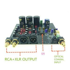 Image 2 - ES9038 ES9038PRO DAC décodeur assemblé carte numérique vers analogique convertisseur audio option USB XMOS XU208 ou Amanero pour HIFI AUDIO