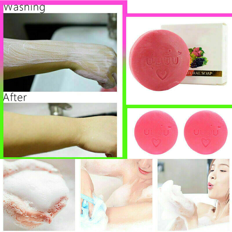 Whitening Soap Face Moisturizing Deep Cleaning Oil Control Soap LDO99