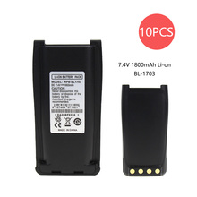 10X Replacement Battery for HYT TC 800M TC-700 TC-700U TC-700V TC-710 Part NO BH1801 BL1703 BL1703Li BL2102 цена 2017