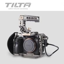 Tilta A7 A9 Trousses Vac-u-rigmd A7 iii Pleine Cage TA-T17-A-G Pour Sony A7 A9 A7III A7R3 A7M3 Poignée Supérieure Plaque Focus Poignée