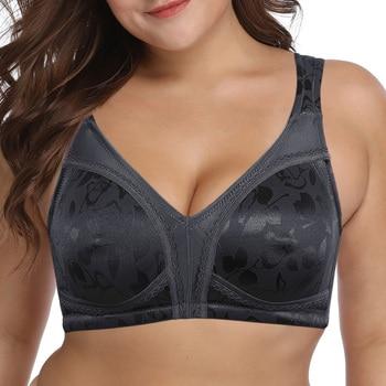 Floral Underwear Lager Cup Soft Black Lingerie