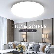 Led Ceiling Lights 220V Modern Ceiling Lamp Lighting 15/20/30W 50W Panel Light Fixture Surface Mount for Living Room Kitchen