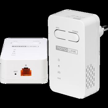 (1 pair)TOTOLINK Extensor Adaptador work as AP 100Mbps over Powerline  Wired router Homeplug AV PLW350 Ponte Metros de Cobertura