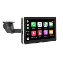 """Autoradio Android/Apple CarPlay, écran tactile 7 """", Navigation sans fil, Bluetooth, stéréo, 1 Din/2 Din, système multimédia Portable, filaire, pour voiture"""
