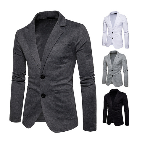 New Fashion Men Two Button Pocket Casual Blazer Jacket Autumn and Winter Corduroy Warm Suit Pakistan