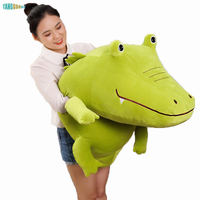 60 100cm Crocodile Plush Toys Pillow Soft Stuffed Plush Animal kids toy birthday Christmas gifts