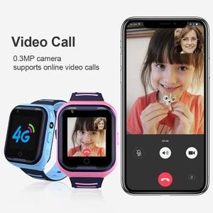 Image 2 - Torntisc ساعة ذكية للأطفال SOS مكافحة خسر الطفل 4G بطاقة SIM لتحديد المواقع واي فاي مكالمة الموقع LBS تتبع Smartwatch