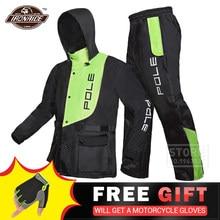 Traje de motocicleta para la lluvia impermeable + Pantalones de lluvia, Poncho, chaqueta de lluvia para moto, Scooter de montar para la lluvia