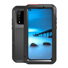 Shockproof Case For Huawei Nova 4 4E Metal Fundas Nova4E Rugged Armor Capa Coque Phone Cover