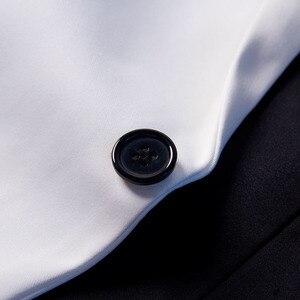 Image 3 - PYJTRL yeni moda beyaz siyah kırmızı rahat ceket erkekler Blazers sahne şarkıcılar kostüm Blazer Slim Fit parti balo takım elbise ceket