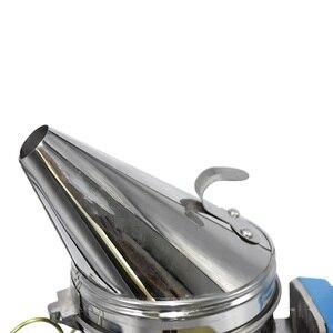 Image 4 - Kit eléctrico de transmisión de humo de abeja de acero inoxidable, gran oferta, herramienta de apicultura, ahumador de abejas
