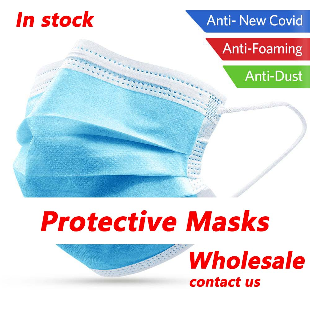 Wholesale FFP2 Profession Disposable Surgical Masks 3 Ply N95  KF94 Nonwoven Disposable Flu Hygiene Medical Mask Health Face Mask  -