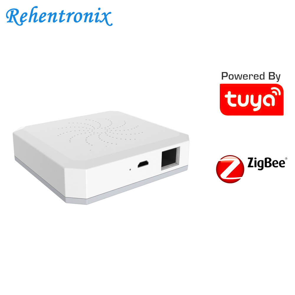 Tuya Smart ZigBee Central Hub Home Automation Security System with RJ45 Network Port