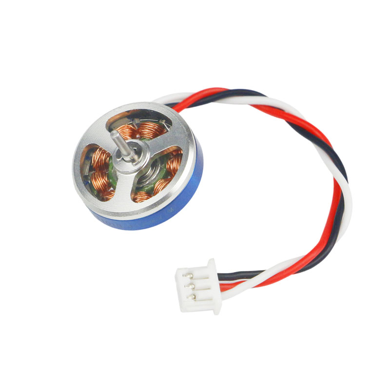 1PCS XT11015 6100KV Motor 1mm Shaft Dual Bearing Micro Motor FPV 3S Lipo Spare Parts for RC Racing Mini Drone Model image