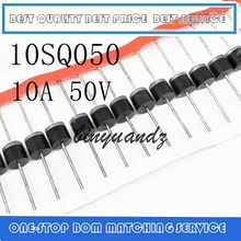 50PCS 10SQ050 10A 50V Schottky Rectifiers Diode 101 New and original