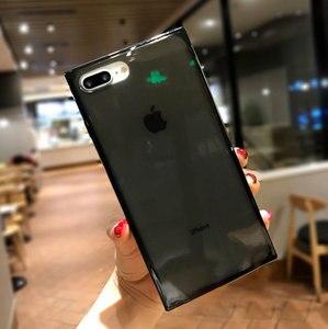Image 3 - 4 Gasbag açılan geçirmez yumuşak iphone için kılıf xs MAX XR X 10 7 8 artı 6 6s temizle TPU silikon şeker Anti vuruş telefon kapak