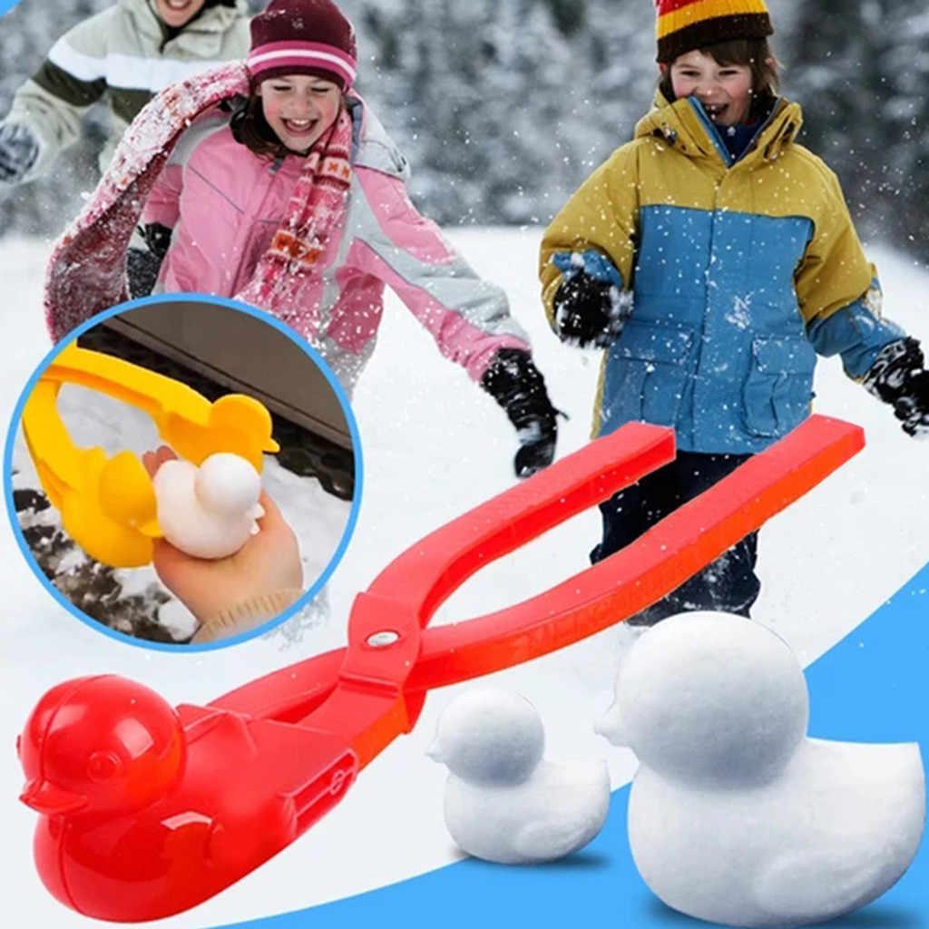 雪雪だるまメーカークリップメーカー動物形の雪砂型ツール冬子供屋外スポーツ雪ボールのおもちゃ屋外娯楽とスポーツ