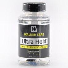 Ultra hold cabelo sistema adesivo cola escova-on para peruca de renda/peruca de peruca macio-ligação adesivo