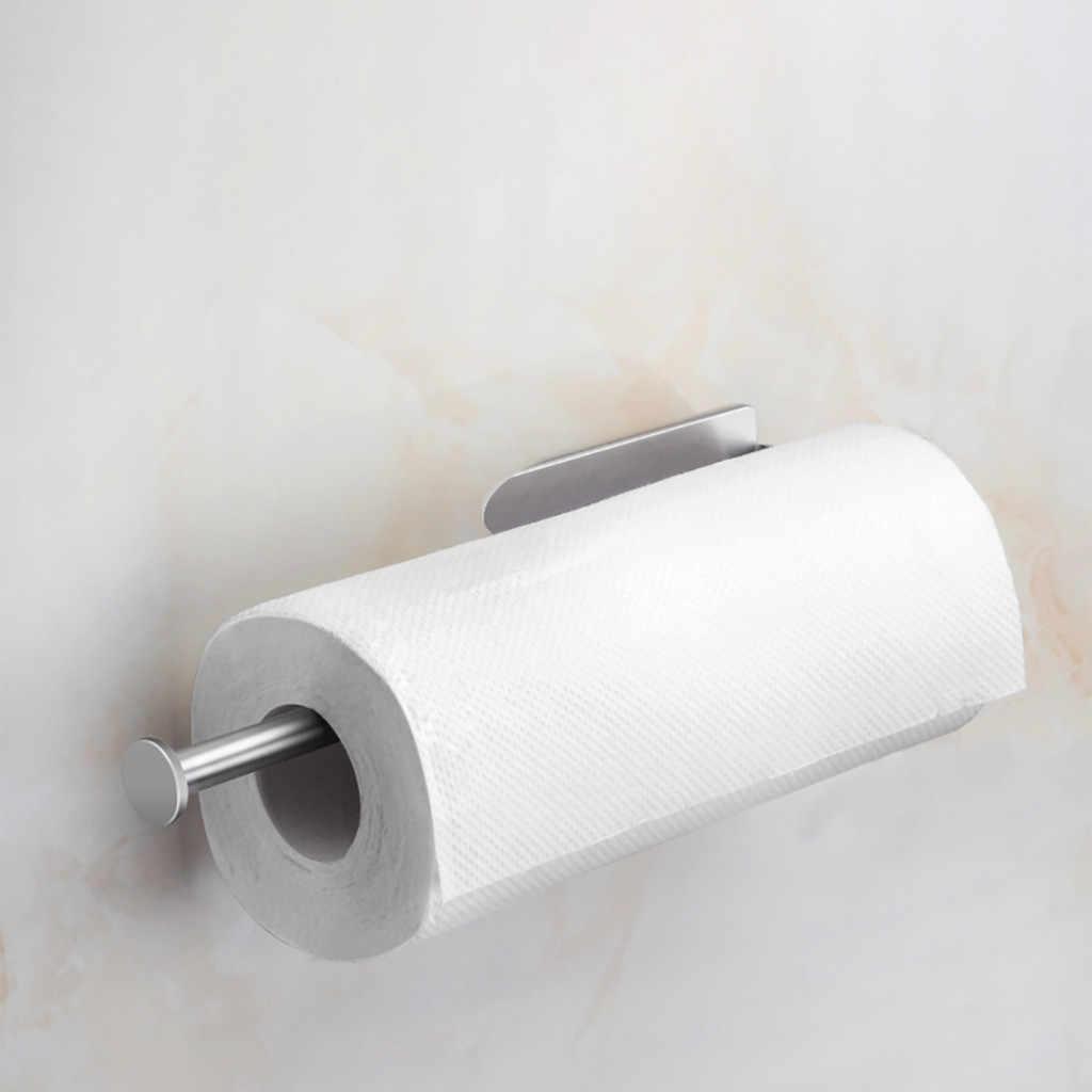 垂直多様な紙タオルホルダーウォールマウント浴室収納タオルラックホルダー自宅保管 держатель для бумаги