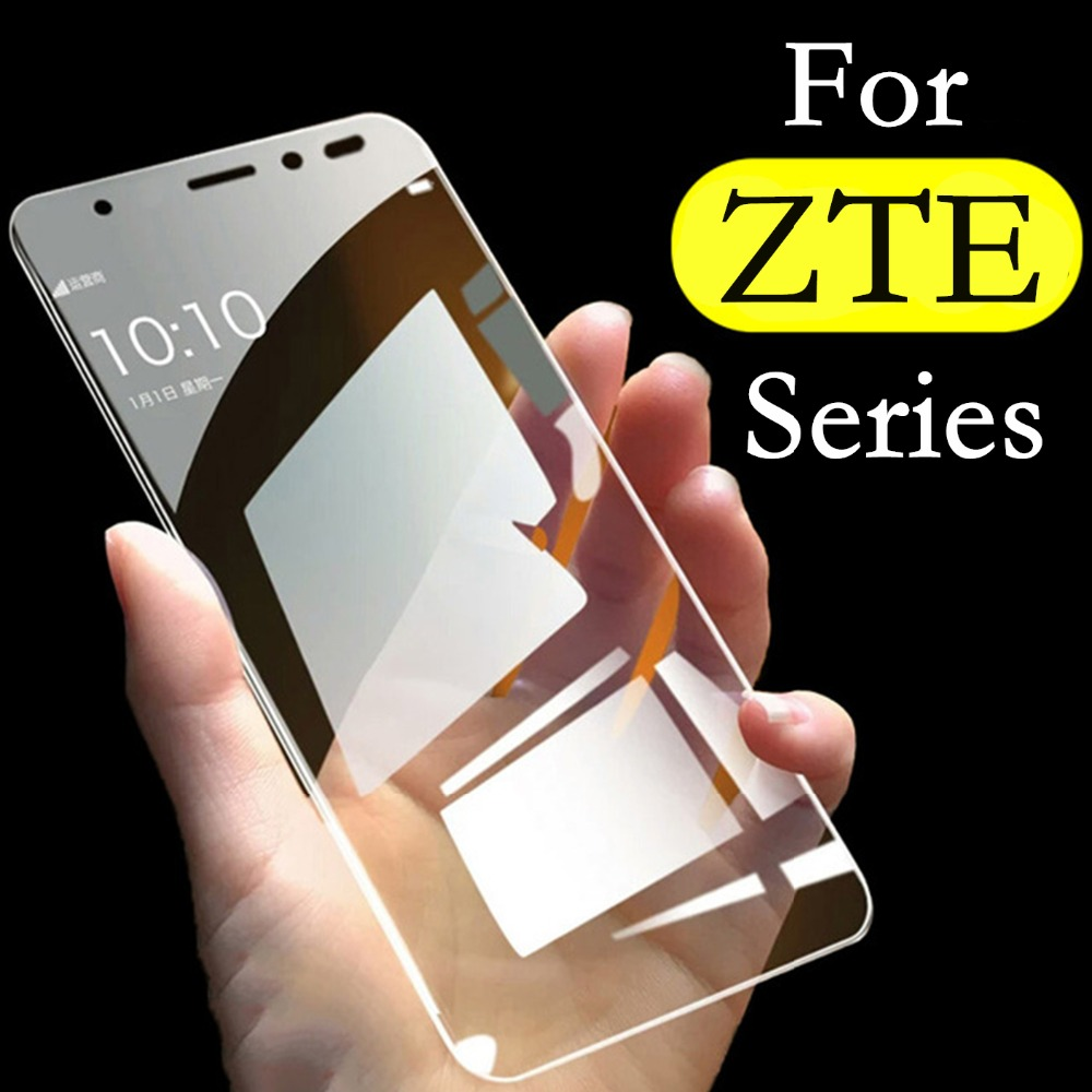 For ZTE Blade L8 A3 A5 A7 2019 A622 A620 V9 V10 Vita A6 Lite Glass Screen Protective Tempered Glass Protector Cover Film