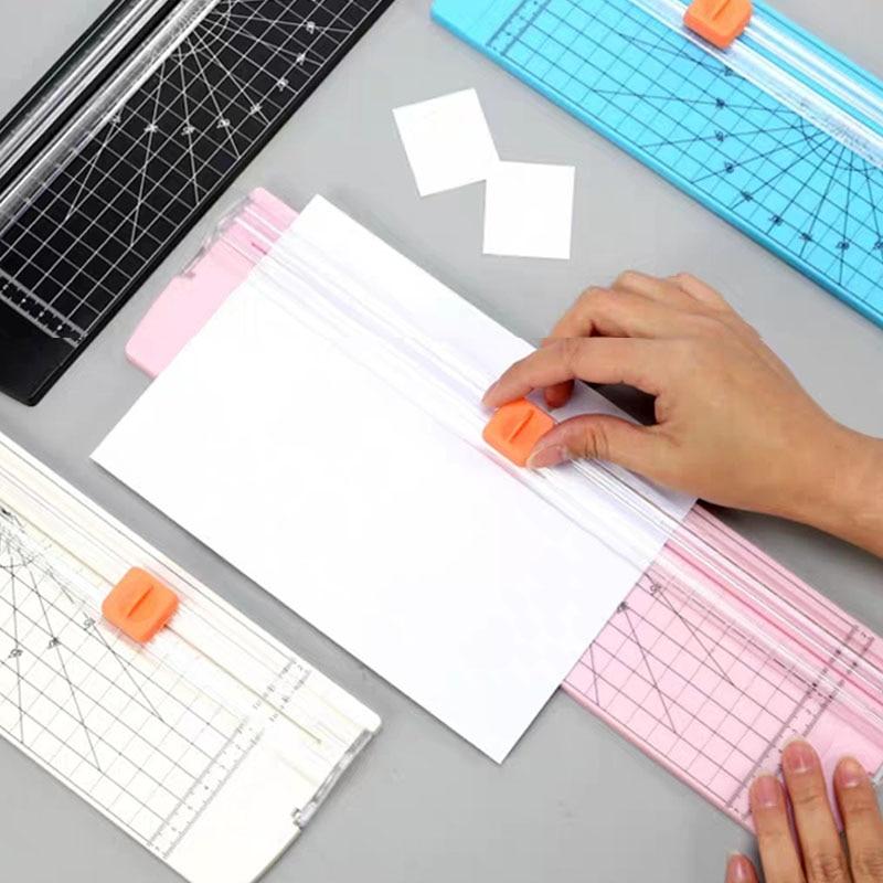 A4 Fashion A4 Paper Cutting Machine Paper Cutter Office Trimmer  Scrapbook Trimmer Lightweight And 5pcs Replace The Blade Mat Ma