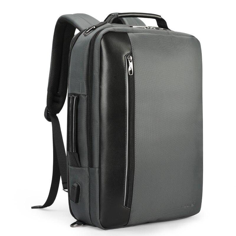 Tigernu Brand Nylon Waterproof Backpack Men Business 15 6 Laptop Shoulder Backpack Multifunction Schoolbags Mochila Travel
