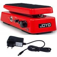 JOYO WAH-I-Mini Pedal clásico WAH, accesorios de guitarra, pedal portátil con efecto de volumen para piezas de guitarra eléctrica, sonido Wah TrueBypas