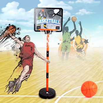 Children Electronic Scoring Portable Standing Basketball Hoop Indoor Outdoor Sports Entertainment For Kids Fun